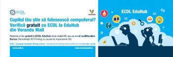 Tehnologia 3D Printing la ECDL EduHub