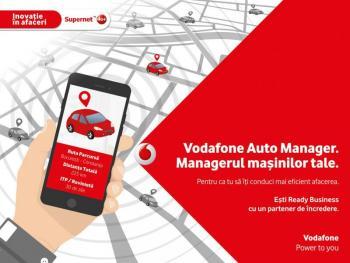 """Vodafone România lansează, în premieră la nivel național, o soluție """"plug-and-play"""" pentru monitorizarea flotelor auto"""