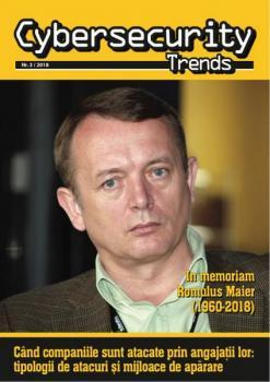 A apărut Cybersecurity Trends 3/2018